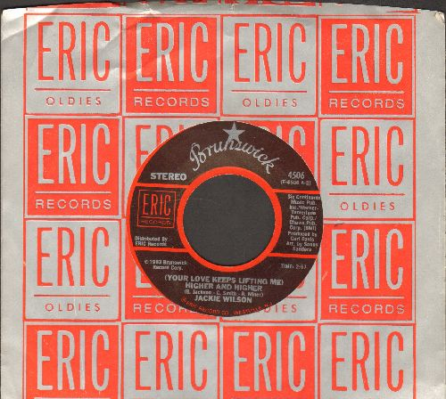 Wilson, Jackie - (Your Love Is Lifting Me) Higher And Higher/Whipsers (getting' Louder) (double-hit re-issue with Eric company sleeve) - NM9/ - 45 rpm Records