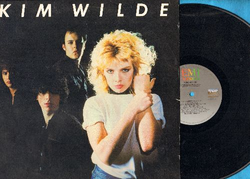 Wilde, Kim - Kim Wilde: Kids In America, Young Heroes, C hequered Love, 2-6-5-8-0, Tuning In Tuning On (vinyl STEREO LP record) - EX8/EX8 - LP Records