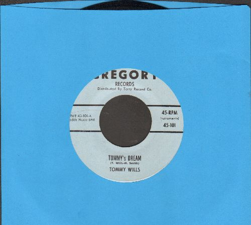Wills, Tommy - Blues In The Night/Tommy's Dream - NM9/ - 45 rpm Records
