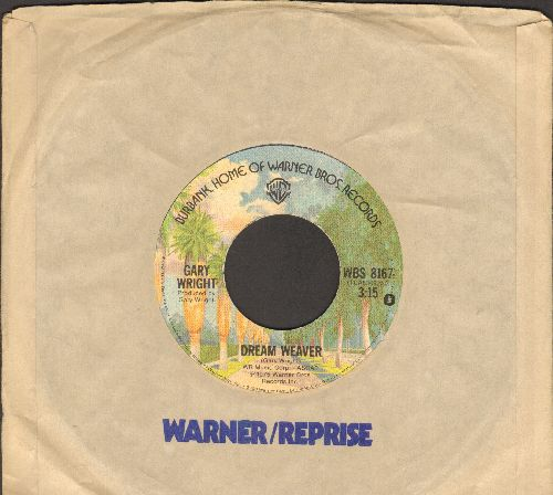 Wright, Gary - Dream Weaver/Let It Out - EX8/ - 45 rpm Records