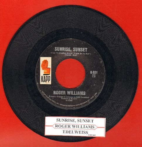 Williams, Andy - Love Theme From The Godfather (Speak Softly Love)/A Fool Never Learns (double-hit re-issue with juke box label Columbiua company sleeve) - NM9/ - 45 rpm Records