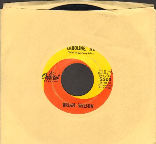 Wilson, Brian - Caroline, No/Sumer Means New Love - VG6/ - 45 rpm Records