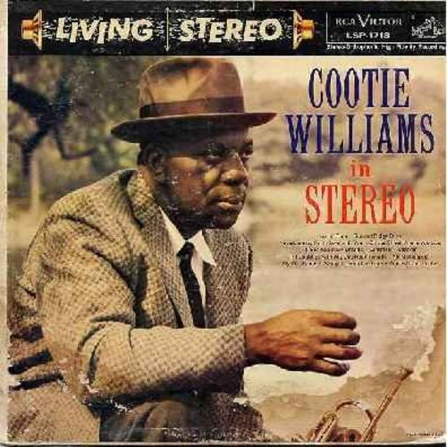 Williams, Cootie - Cootie Williams In Stereo: Just In Time, Summit Ridge Drive, On The Street Where You Live, I'll See You In My Dreams, Caravan, My Old Flame, Concerto For Cootie (Vinyl STEREO LP record, cover worn, vinyl near mint!) - NM9/G5 - LP Record