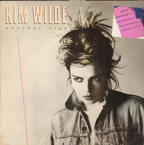 Wilde, Kim - Another Step: You Keep Me Hangin' On, Say You Really Want Me, Missing, Schoolgirl (viny LP record, DJ advance pressing) - NM9/VG7 - LP Records