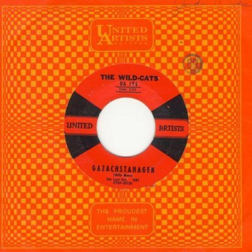 Wild-Cats - Gazachstahagen/Billy's Cha Cha (with United Artists company sleeve) - EX8/ - 45 rpm Records