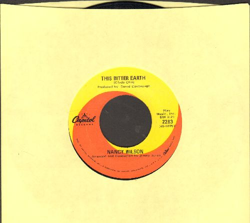 Wilson, Nancy - This Bitter Earth/Peace of Mind - EX8/ - 45 rpm Records