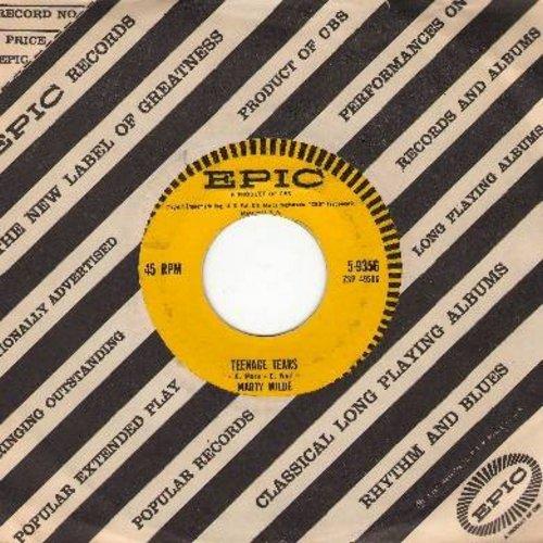 Wilde, Marty - Teenage Tears/Bad Boy (RARE Teen-Idol Gem with Epic company sleeve) - EX8/ - 45 rpm Records