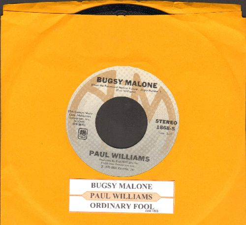 Williams, Paul - Bugsy Malon (featured in film -Bugsy Malone-, with juke box label) - EX8/ - 45 rpm Records