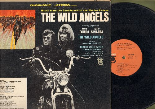 Wild Angels - The Wild Angels - Original Motion Picture Sound Track, featuring songs by The Visitors, The Hands On Time as well as Instrumentals by Davie Allan & The Arrows (Vinyl STEREO LP record) - EX8/EX8 - LP Records