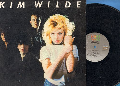 Wilde, Kim - Kim Wilde: Kids In America, Young Heroes, Chequered Love, Tuning In Tuning On (vinyl STEREO LP reord) - EX8/EX8 - LP Records