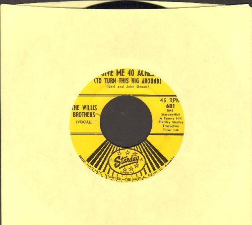 Willis, Chuck - What Am I Living For/Hang Up My Rock And Roll Shoes (with Atlantic company sleeve) - VG7/ - 45 rpm Records