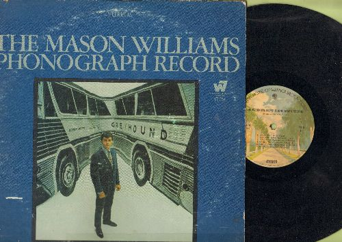 Williams, Mason - The Mason Williams Phonograph Record: Overture, She's Gone Away, The Prince's Panties, Classical Gas, Sunflower (vinyl STEREO LP record) - EX8/VG6 - LP Records