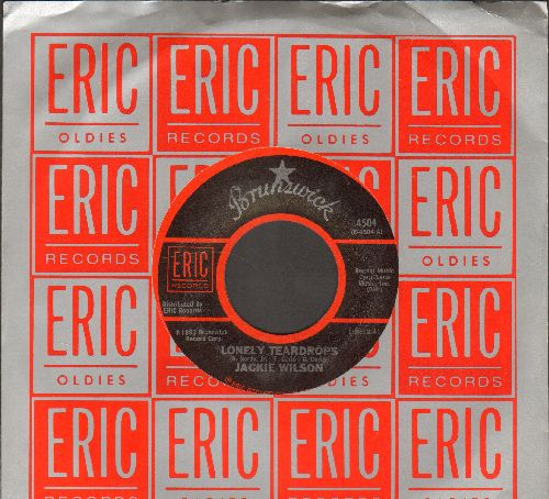 Wilson, Jackie - Lonely Teardrops/Night (double-hit re-issue with Eric company sleeve) - M10/ - 45 rpm Records