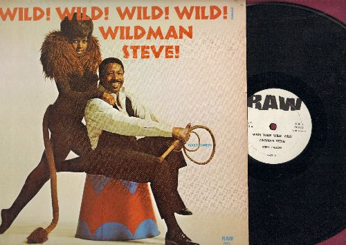 Wildman Steve - Wild! Wild! Wild! Wild! (Vinyl STEREO LP record - Adult Humor Comedy) - NM9/EX8 - LP Records