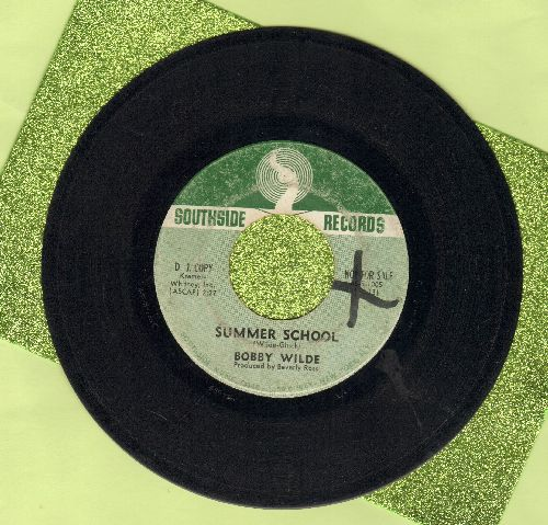 Wilde, Bobby - Summer School/To Thine Own Self Be True (DJ advance pressing, wol) - VG7/ - 45 rpm Records