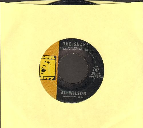 Wilson, Al - The Snake/Getting Ready For Tomorrow - EX8/ - 45 rpm Records