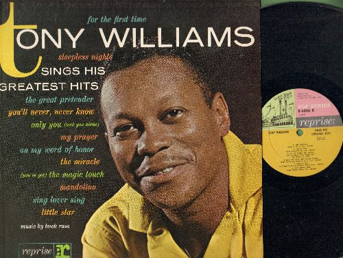 Williams, Tony - Sings His Greatest Hits: My Prayer, Little Star, The Great Pretender, For The First Time (vinyl MONO LP record) - NM9/NM9 - LP Records