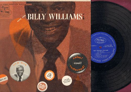 Williams, Billy - Vote For Billy Williams: This Side Of Heaven, Cattle Call, A Smile For Suzette, If I Never Get To Heaven, Mad About Cha (Vinyl MONO LP record) - NM9/EX8 - LP Records