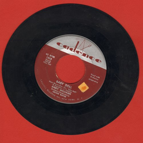Williams, Andy - Baby Doll/Since I've Found My Baby - EX8/ - 45 rpm Records