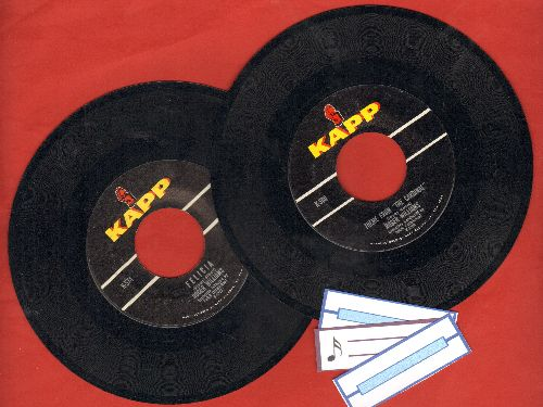 Williams, Rogers - 2 for 1 Special: Felicia/Theme From -Carnival- (2 vintage first issue 45rpm records for the price of 1!) - EX8/ - 45 rpm Records