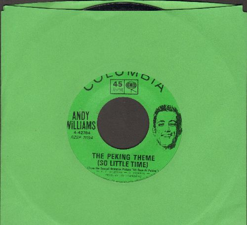 Williams, Andy - The Peking Theme (So Little Time)/Hopeless - NM9/ - 45 rpm Records