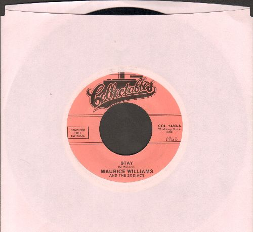 Williams, Maurice & The Zodiacs - Stay/Do You Believe (re-issue) - NM9/ - 45 rpm Records