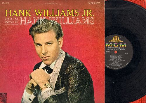 Williams, Hank Jr. - Sings The Songs Of Hank Williams: Your Cheatin' Heart, I'm So Lonesome I Could Cry, Cold Cold Heart, You Win Again, Jambalaya (Vinyl STEREO LP record) - EX8/EX8 - LP Records