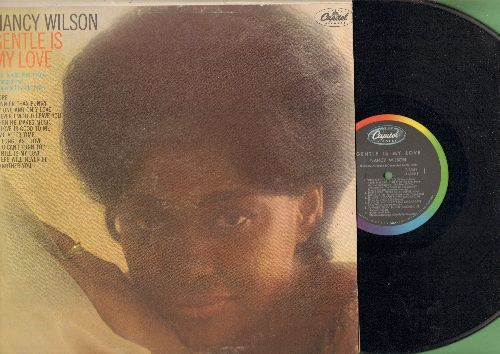 Wilson, Nancy - Gentle Is My Love: More, Time After Time, My One And Only Love, If Love Is Good To Me, There Will Never Be Another You (Vinyl MONO LP record, PROMO punch-stamp in upper right corner) - EX8/VG7 - LP Records