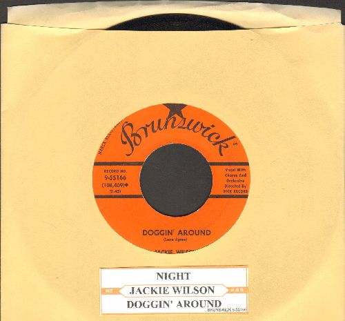 Wilson, Jackie - Doggin' Around/Night (with juke box label) - NM9/ - 45 rpm Records