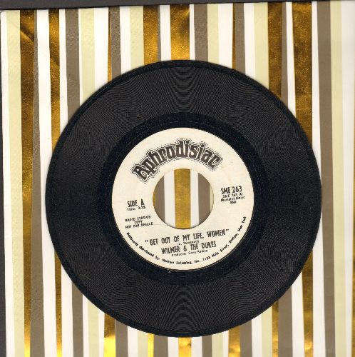 Wilmer & The Dukes - I Do Love You/Get Out Of My Life, Women (DJ advance pressing) - EX8/ - 45 rpm Records