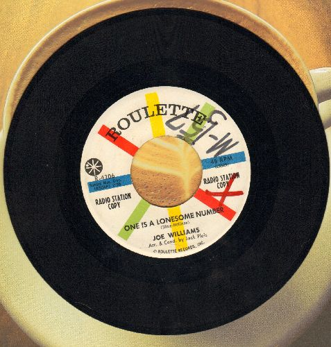 Williams, Joe - Somebody/One Is A Lonesome Number (DJ advance pressing, heavy wol) - NM9/ - 45 rpm Records