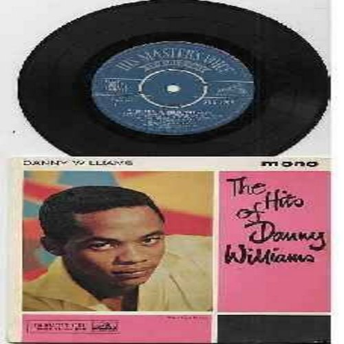Williams, Danny - The Hits Of Danny Williams: Jeannie/Stay As Sweet As You Are/The Wonderful World Of The Young/It Might As Well Be Spring (vinyl EP record with picture cover, British Pressing with removeable spindle-adaptor) - EX8/NM9 - 45 rpm Records