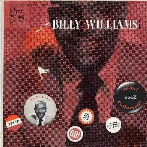 Williams, Billy - Vote For Billy Williams: This Side Of Heaven, Cattle Call, A Smile For Suzette, If I Never Get To Heaven, Mad About Cha (vinyl MONO LP record) - EX8/VG7 - LP Records