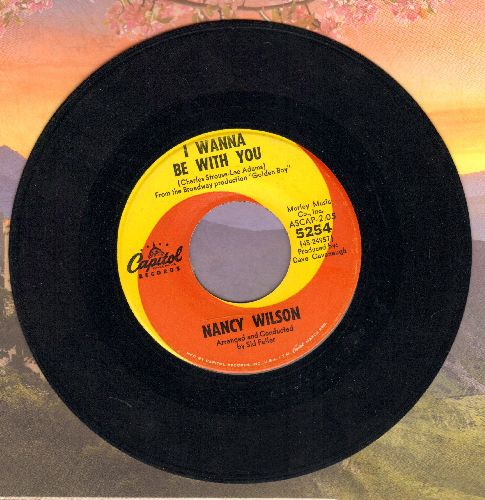 Wilson, Nancy - I Wanna Be With You/It's Time For Me - EX8/ - 45 rpm Records