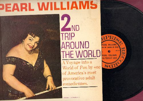 Williams, Pearl - 2nd Trip Around The World - Hilarious LIVE comedy recording, humor not for mixed company! (Vinyl MONO LP record) - EX8/EX8 - LP Records