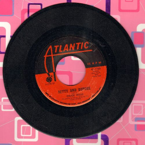 Willis, Chuck - Betty And Dupree/My Crying Eyes - EX8/ - 45 rpm Records