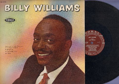 Williams, Billy - Billy Williams: I'm Gonna Sit Right Down And Write Myself A Letter, Butterfly, Cry Baby, Glory Of Love, Love Me, Fools Rush In (vinyl MONO LP record) - NM9/EX8 - LP Records