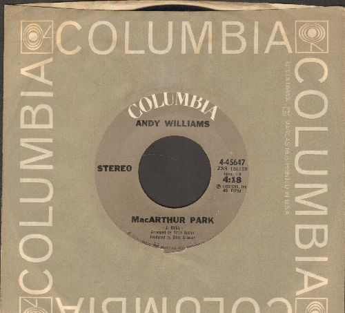 Williams, Andy - MacArthur Park/Amazing Grace (with Columbia company sleeve) - NM9/ - 45 rpm Records