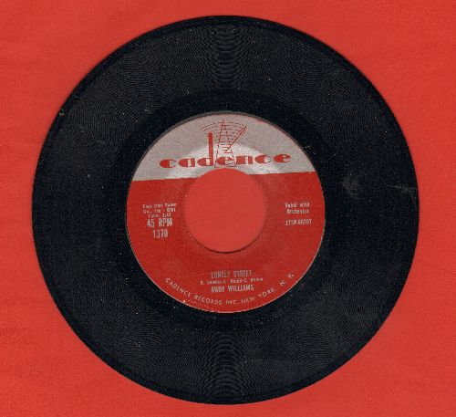 Williams, Andy - Lonely Street/Summer Love (MINT condition) - M10/ - 45 rpm Records