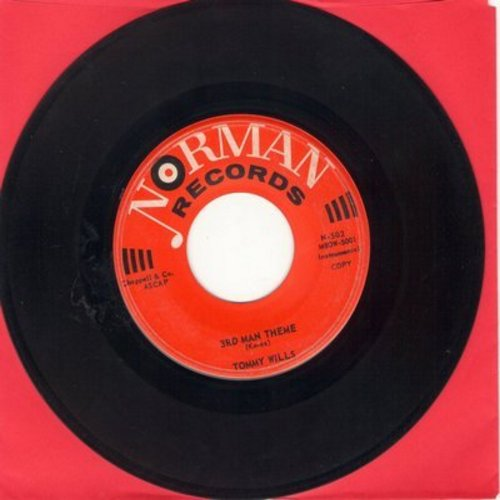 Wills, Tommy - Mr. Movin' Is Groovin'3rd Man Theme - EX8/ - 45 rpm Records