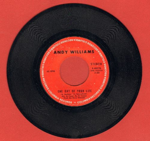 Williams, Andy - One Day Of Your Life/Long Time Blues - NM9/ - 45 rpm Records