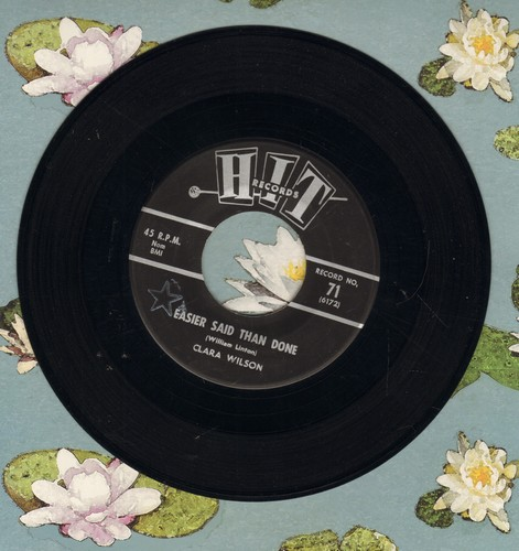 Wilson, Clara - Easier Said Than Done/Surf City (by Jimmy And Joe on flip-side) (contemporary cover versions of hits) - NM9/ - 45 rpm Records