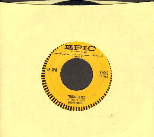 Wilde, Marty - Teenage Tears/Bad Boy (FANTASTIC Teen Idol two-sider!) - VG7/ - 45 rpm Records