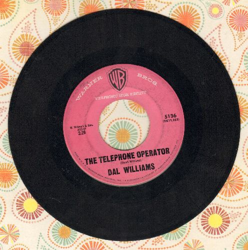 Williams, Dal - The Telephone Operator/What Is An Indian?  - EX8/ - 45 rpm Records