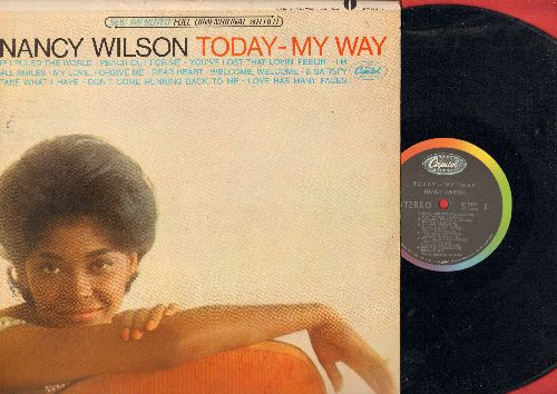 Wilson, Nancy - Today - My Way: You've Lost That Lovin' Feelin', I'm All Smiles, If I Ruled The World, Dear Heart (vinyl STEREO LP record) - EX8/EX8 - LP Records