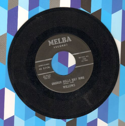Willows - Church Bells May Ring/Baby Tell Me (wol) - EX8/ - 45 rpm Records
