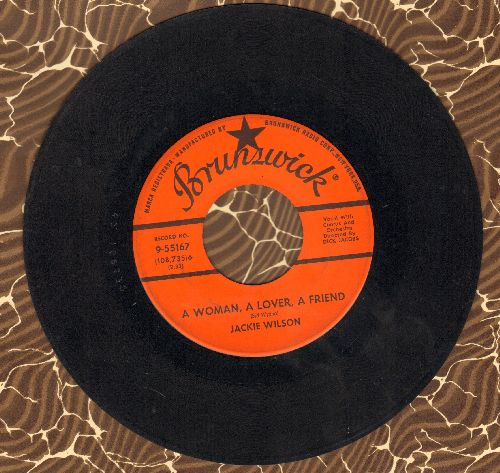 Wilson, Jackie - A Woman A Lover A Friend/All My Love  - VG7/ - 45 rpm Records
