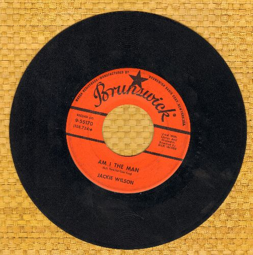 Wilson, Jackie - Am I The Man?/Alone At Last  - VG7/ - 45 rpm Records
