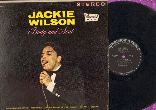 Wilson, Jackie - Body And Soul: Blue Moon, Crazy She Calls Me, The Tear Of The Year, I Got It Bad (And That Ain't Good) (Vinyl STEREO LP record, black label) - VG7/VG7 - LP Records