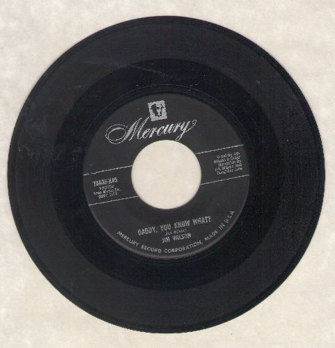 Wilson, Jim - Daddy, You Know What?/Plans For Divorce - VG6/ - 45 rpm Records